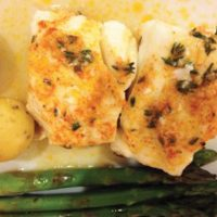 lemon herb cod recipe
