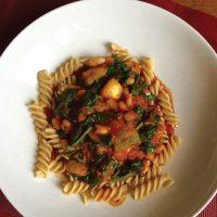 Healthy Pasta dish nutrition