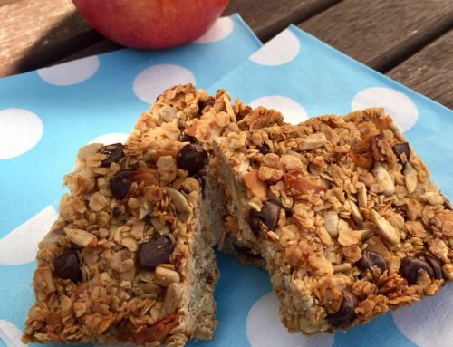 Healthy Granola Bars – kid friendly, nut free!