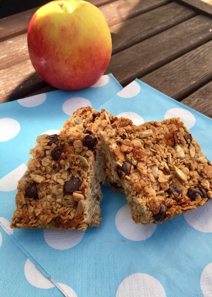 Healthy Granola Bars - kid friendly, nut free! - Elsa Jones