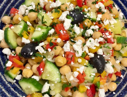 Make Ahead Chickpea Salad – Perfect For Meal Prep